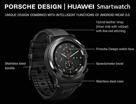 porches design porsche design huawei smartwatch ablogtowatch