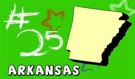 Arkansas The 25th State welcome to usa 4 arkansas state information