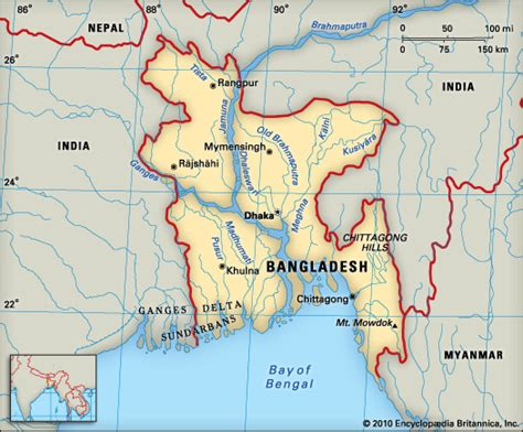 geographical map of bangladesh bangladesh geography encyclopedia children s