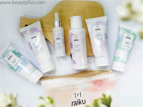 review raiku beauty skincare anti aging series rhythm