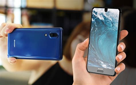 sharp mobile phone sharp s edge to edge aquos s2 is a glimpse at your next phone