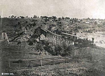 lowes folsom california railswest railroad beginnings in california