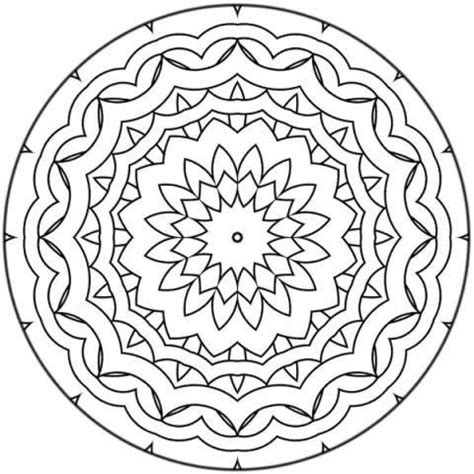 mandala 17 coloring pages hellokids com