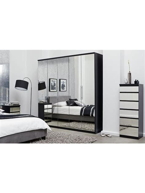 Prague Wardrobe by Prague Mirror 5 Door Wardrobe Prague Wardrobes And Doors