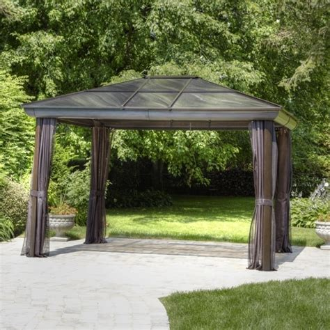 lowes gazebo lowes hardtop gazebo pergola gazebo ideas