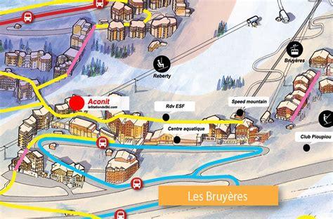 Location f3 9 personnes à Les Menuires (Pierre & Vacances Residence Aconit)