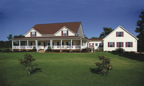 farmhouse with wrap around porch plans farmhouse plans with detached garage farmhouse plans with