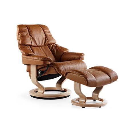 Stressless Recliners by Stressless Reno Recliner And Ottoman Decorum Furniture Store
