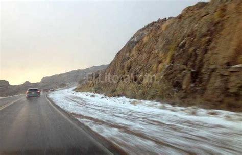 el camino de las b00936lfew por la nieve cortaron el camino a las altas cumbres el litoral noticias santa fe