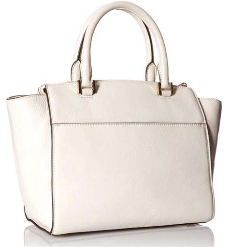 Michael Michael Kors Hudson Pebble Large Ew Tote by Michael Kors Vanilla Hudson Large Satchel Shoulder Handbag