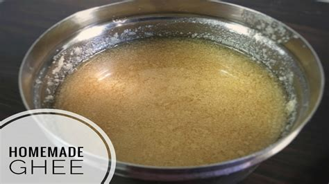 how to make ghee at home in telugu