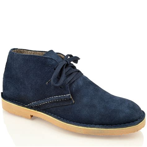 mens casual suede boots mens classic faux suede leather desert chukka casual ankle