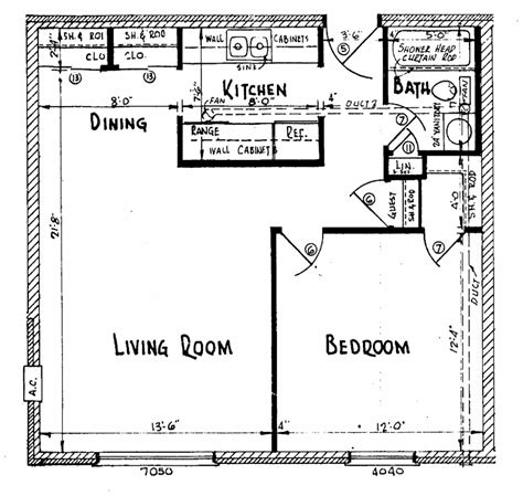Small Floor Plans Bellaire Village Apartments