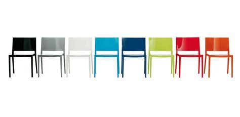sedia lizz kartell scopri sedia lizz nero lucido di kartell made in design