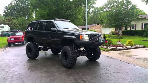 jeep grand lifted lifted jeep grand 5 9 zj