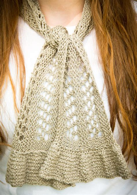knitting pattern loopy scarf lacy scarf knitting patterns in the loop knitting