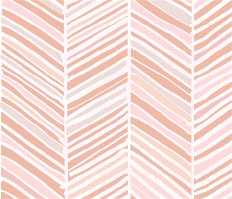 pastel peach pattern herringbone hues of pastel peachy pink by friztin fabric