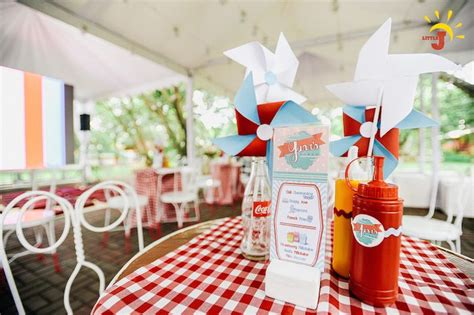 kitchen party ideas kara s party ideas retro kitchen diner birthday party