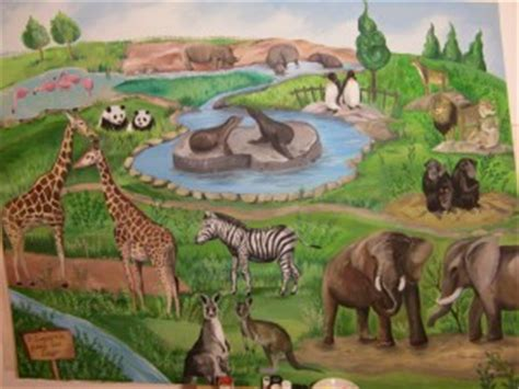 Leyotso Zoo Painting