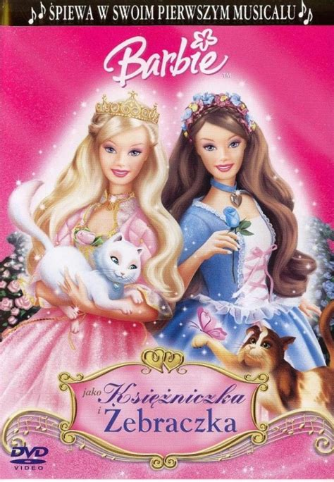 film barbie jako roszpunka po polsku barbie jako księżniczka i żebraczka 2004 powiązane