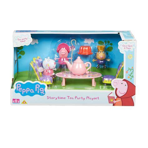peppa pig swing playset peppa pig storytime tea party playset 163 14 00 hamleys