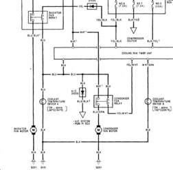 condenser fan motor wiring diagram
