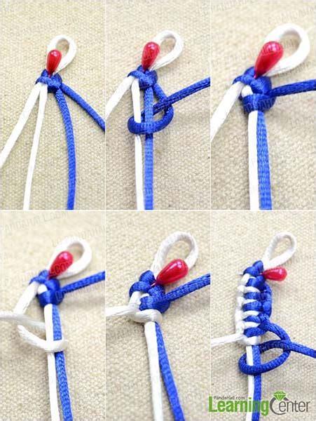 pulseras de nudos planos c 243 mo hacer una pulsera de nudos planos paso a paso
