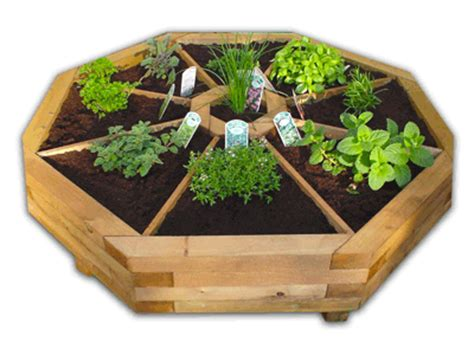 How To Make A Herb Planter octagonal herb planter images