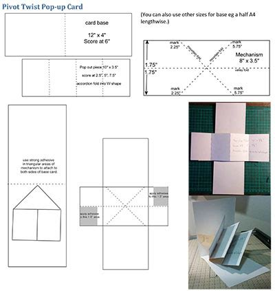 pop up panel card template techniques 101 hop fold z card fold card