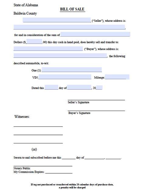 boat registration online alabama free alabama boat bill of sale form pdf word doc