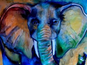 free painting for 2 speed painting watercolor free form elephant