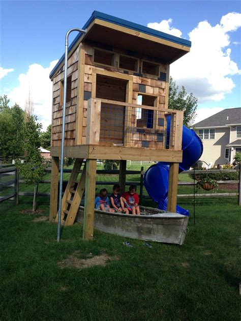 Backyard Clubhouse Ideas 242 Best Images About Boys Playhouse Ideas On Pinterest