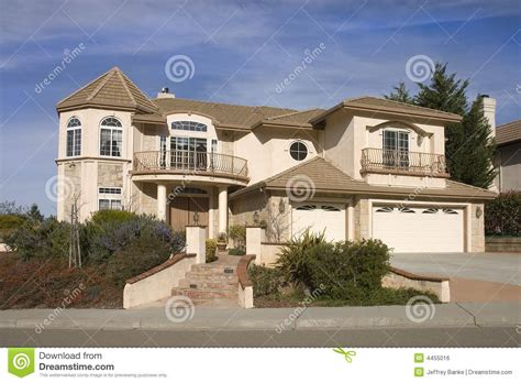 tract home high end tract home royalty free stock image image 4455016