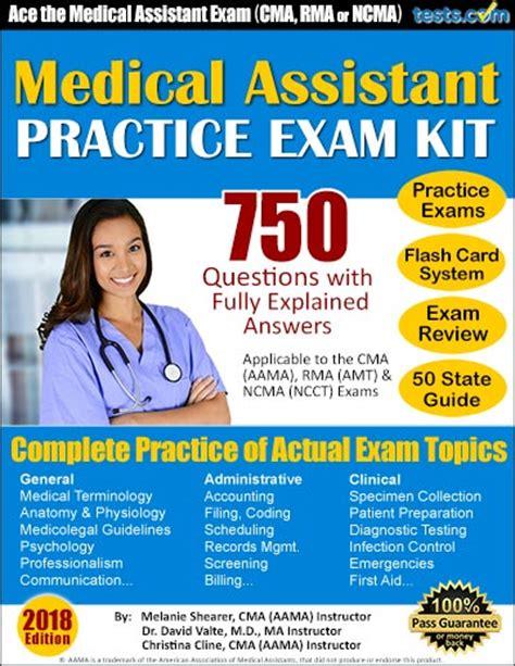 medical assistant certification test