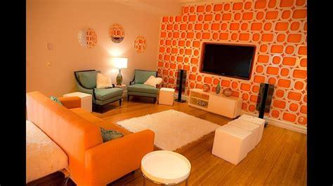 Wohnzimmer Orange by Orange Interior Design Living Room Color Scheme
