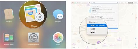 Maps Mac Address Lookup How To Start Using Maps On The Mac Imore