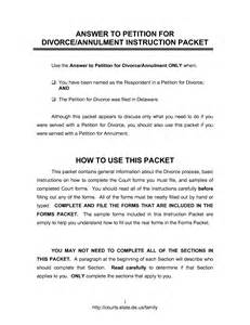 Divorce Letter To Template Best Photos Of Free Divorce Petition Template Divorce Papers Sle Form Blank Divorce Papers