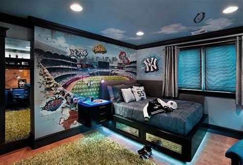 9 Exciting Teenage Boys Bedrooms Design Ideas Bedroom Boys Lights For Bedroom