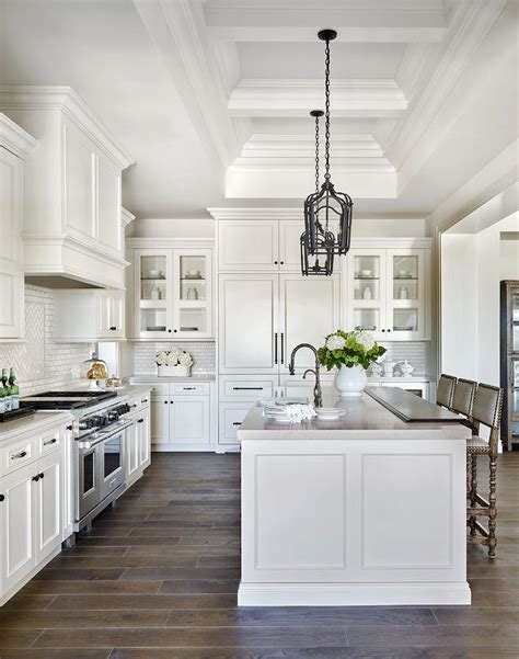 top of kitchen cabinet decor beautiful homes pinterest white raised panel kitchen cabinets with white mini subway