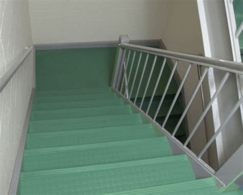 Decorative Rubber Stair Treads by Rubber Stair Treads And Risers A More Decor Johnsonite