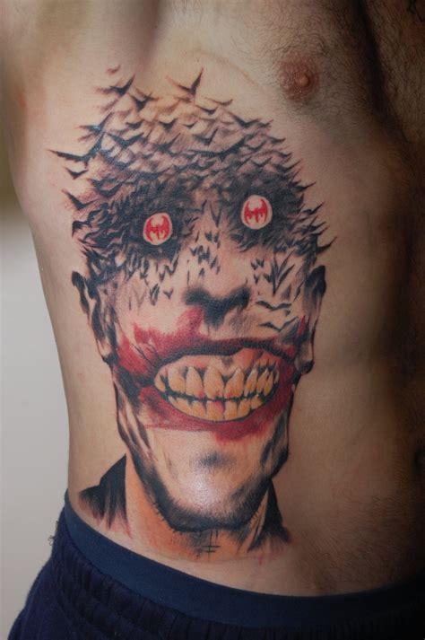 joker tattoo www tattoosbymikeguinn com by stuntmanmike666
