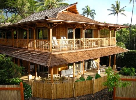 best home design bamboo house design