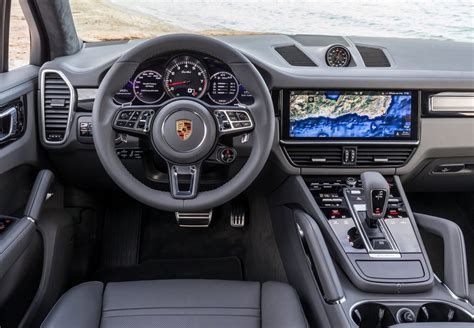 porsche turbo interior 2018 porsche cayenne on sale in australia from 116 300