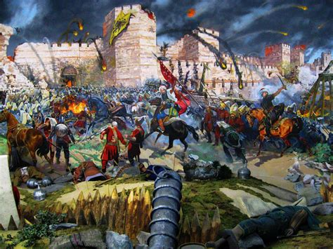 in 1453 the ottomans conquered which important christian city intelliblog the fall of constantinople