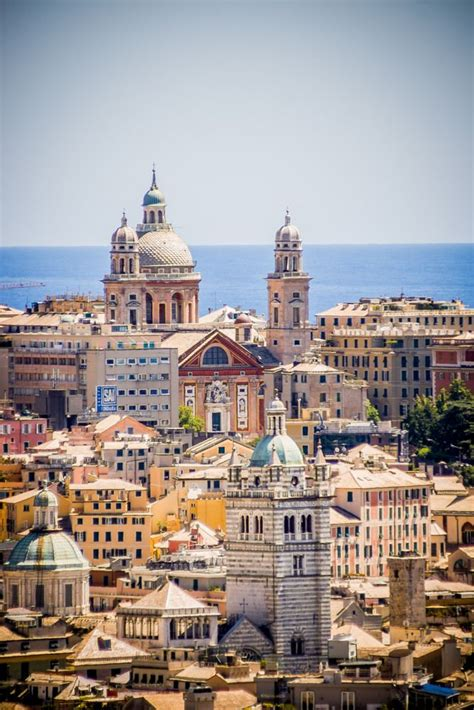 of genoa colorful mediterran city by the sea flickr photo