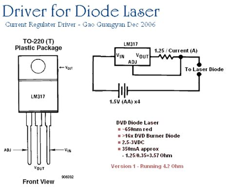 how to power a laser diode loneoceans laboratories a laser