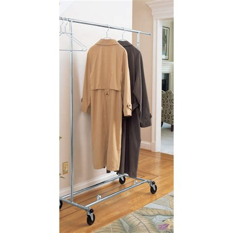 Clothes Rack Commercial by Commercial Chrome Garment Rack In Clothing Racks And Wardrobes