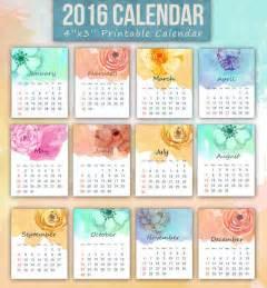 Small Desktop Monthly Calendar Calendario 2016 Para Imprimir 161 La Colecci 243 N Definitiva