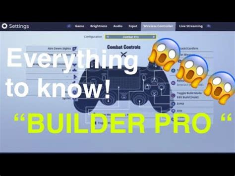 fortnite builder controls new fortnite button layout builder pro quot fortnite battle