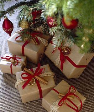 Fancy Paket 1 wrapping brown paper raffia cinnamon stick dried orange ribbon